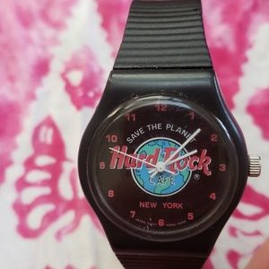 Hard Rock Cafe Accessories - Hard Rock New York Save the Planet Watch